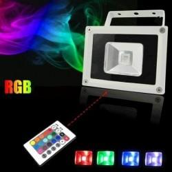 Naświetlacz RGB z pilotem 10W